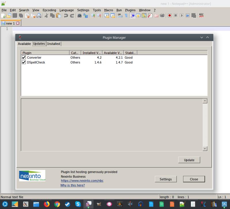 Optimizing Notepad++ on Linux