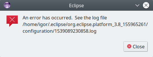 Eclipse cannot start
