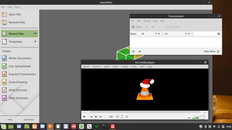 Linux Mint 19 1 Tessa - Adrift