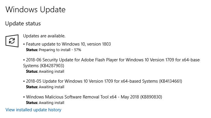 Windows 10 updates - One step forward, one step back