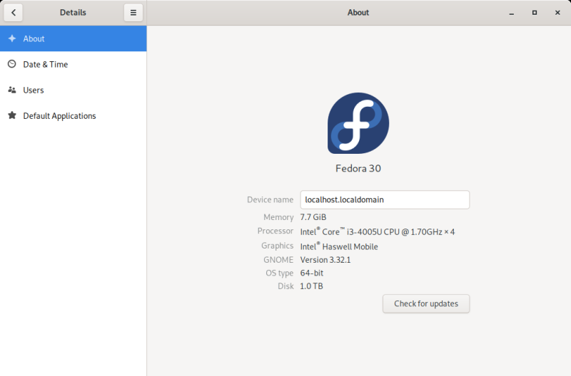 Fedora 30 Workstation review - Smarter, faster and buggier