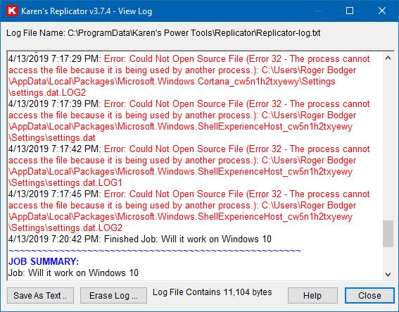 Karen's Replicator - Works on Windows 10 once more