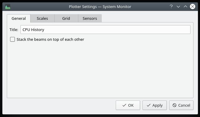 Plasma KSysGuard - System monitor galore
