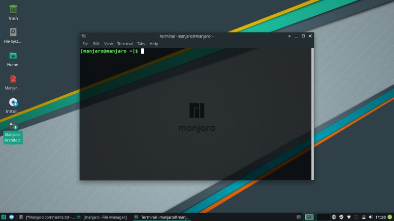 Manjaro 18 0 4 Illyria Xfce review - Nice but somewhat crude