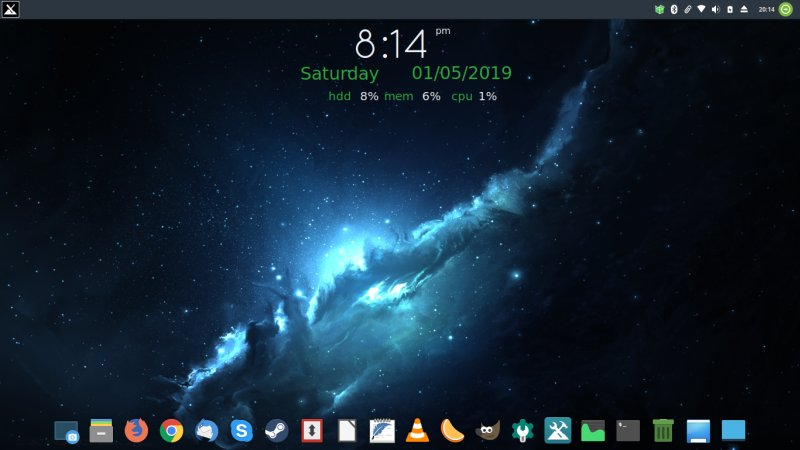 MX Linux MX-18 Continuum - Time x Space x Fun