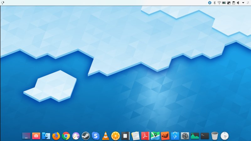 How to make the Plasma desktop look like a Mac