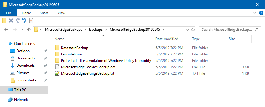 Windows user backup - The quick 'n' dirty guide