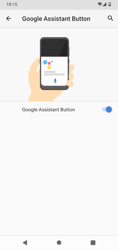 Assistant button