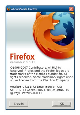 Firefox about