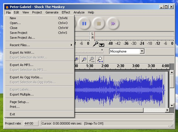 Audacity Files To Mp3 Without Lame Converter