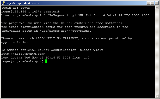 How to remotely connect to Linux machines from Windows