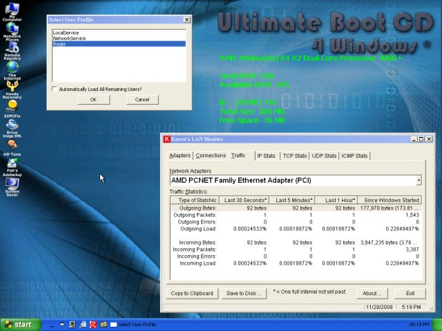 Ultimate Boot CD for Windows (UBCD4WIN) just gets better and better