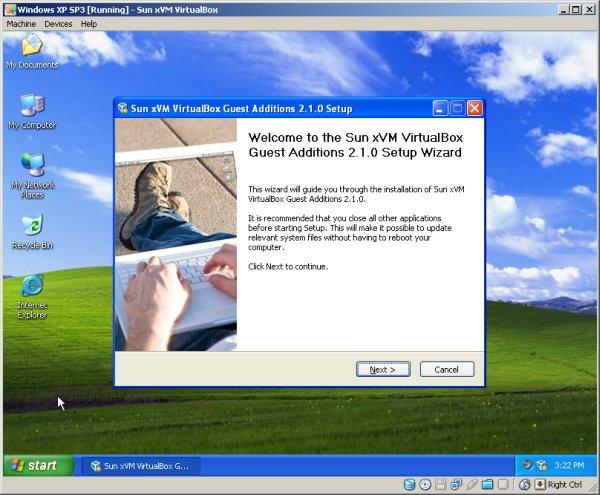 additions virtualbox