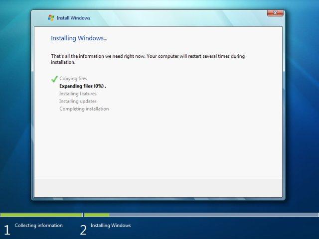 windows-7-installing - پارتیشن بندی ویندوز 7  - متا