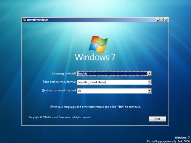 windows-7-language - پارتیشن بندی ویندوز 7  - متا
