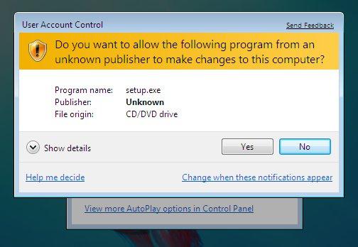 "Bosan Melihat Windows 7 anda terus – terusan ""bertanya""?"