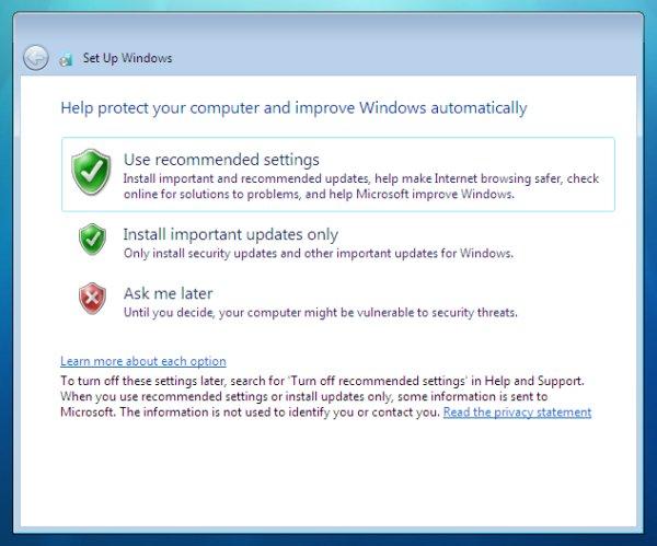 windows-7-updates - پارتیشن بندی ویندوز 7  - متا