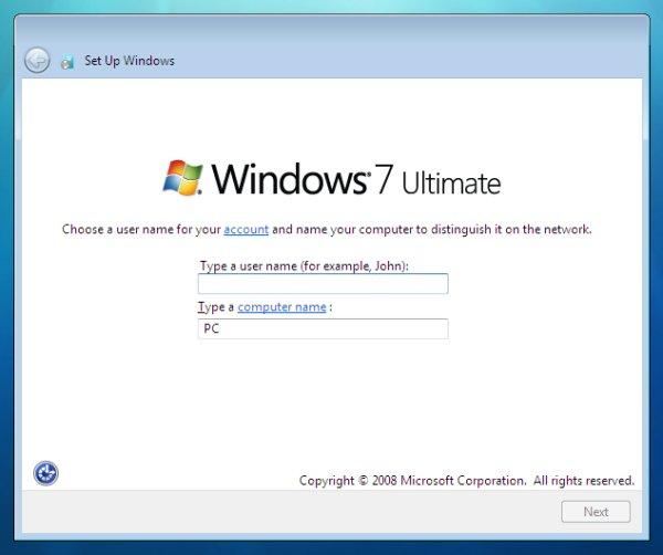 windows-7-user - پارتیشن بندی ویندوز 7  - متا