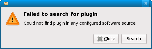 No plugins found