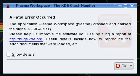 Plasma crash