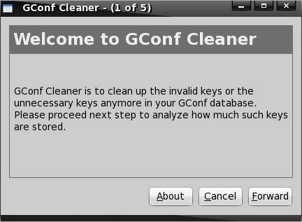 Gconf Cleaner
