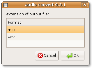 audio conversion audio-convert wizard 1