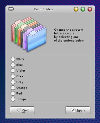 Dreamlinux color folders