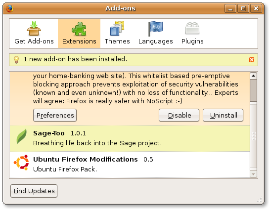 Manage Firefox add-ons in centralized manner - Tutorial