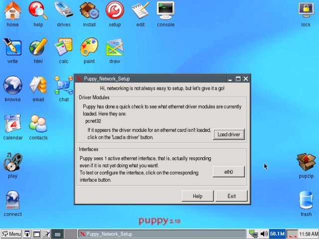 Puppy network wizard 2