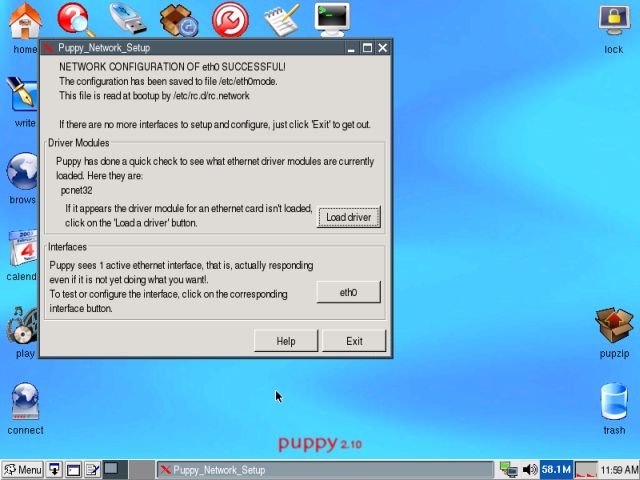 chubby linux puppy