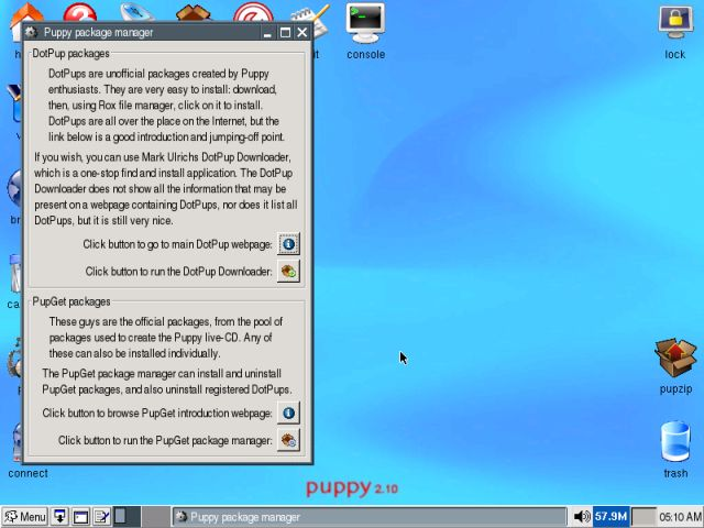 Puppy package manager