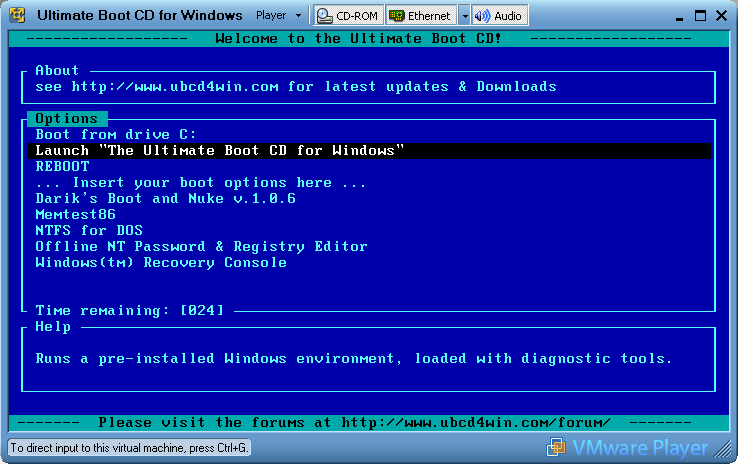 How to create a bootable live Windows CD