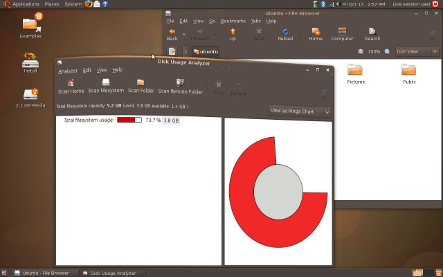 Ubuntu 8.10 effects