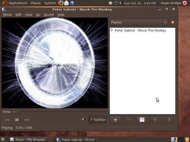 Ubuntu 8.10 mp3 playing