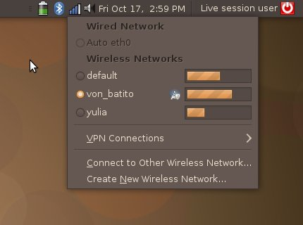 Ubuntu 8.10 wireless 4