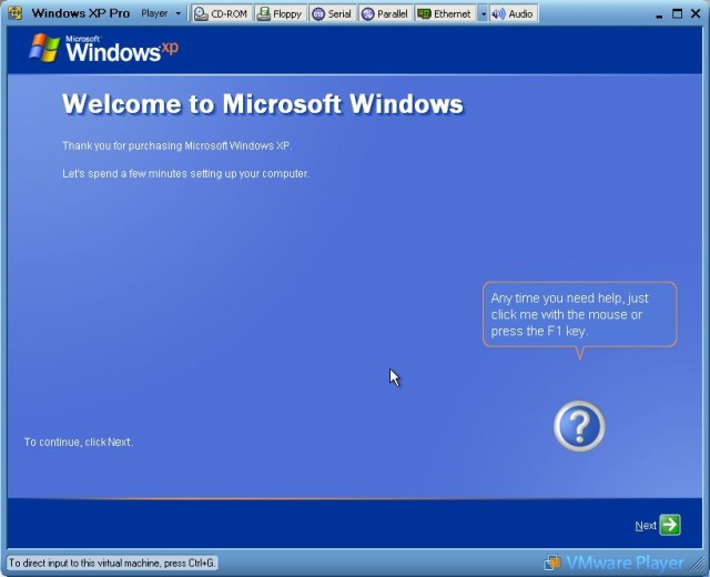 Welcome to Windows