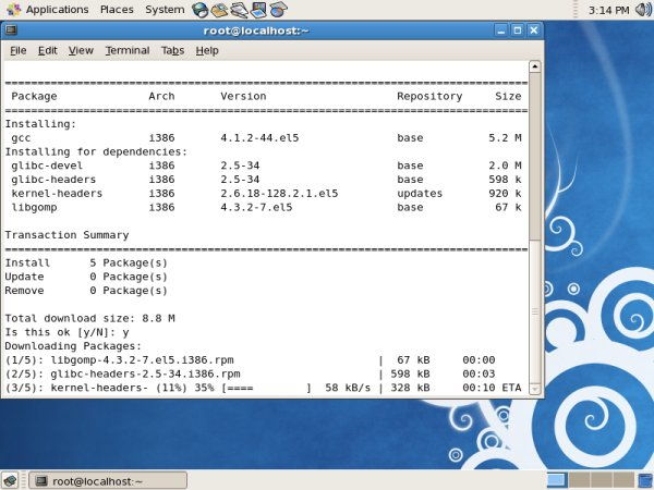 CentOS 5 3 - Serious Linux for serious people