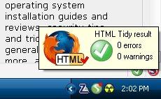 esempio di pagina valida per TIDY