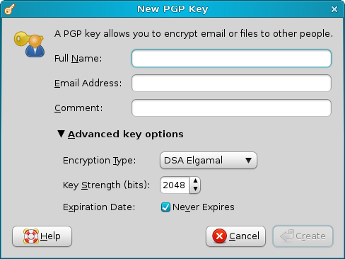 New PGP key