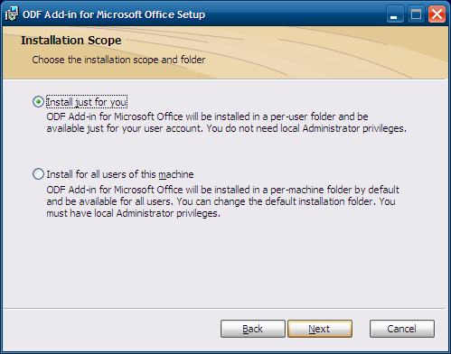 odf add-in pour word 4.0
