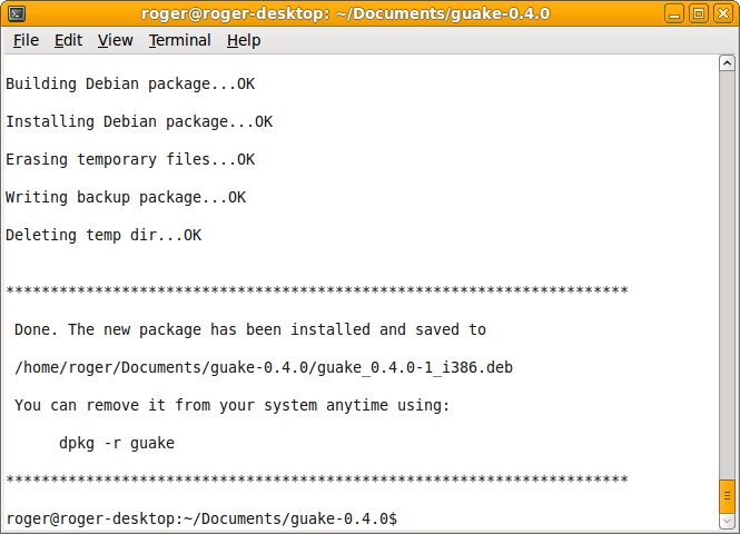 checkinstall - Smartly manage your software installations