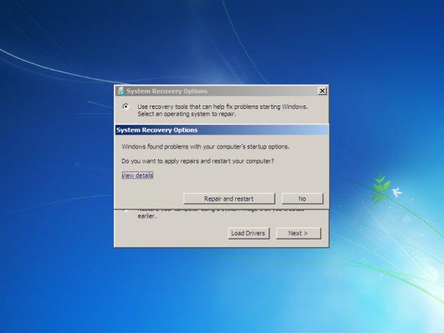 fix windows 7 installer