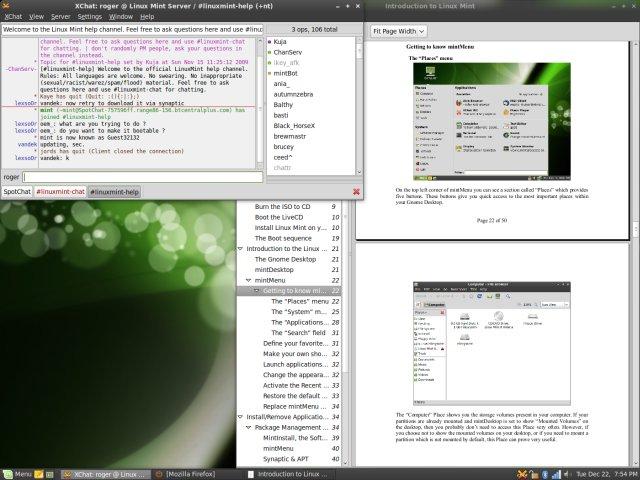 Linux Mint 8 Helena - Superb execution