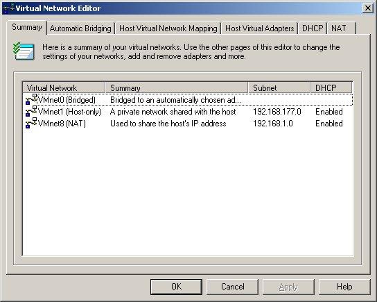 VMware Server networking 101