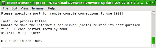 xinetd linux:
