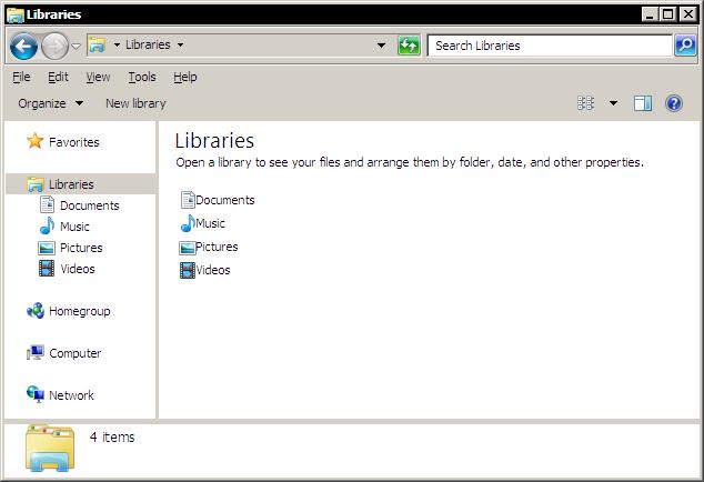 windows 7  status bar