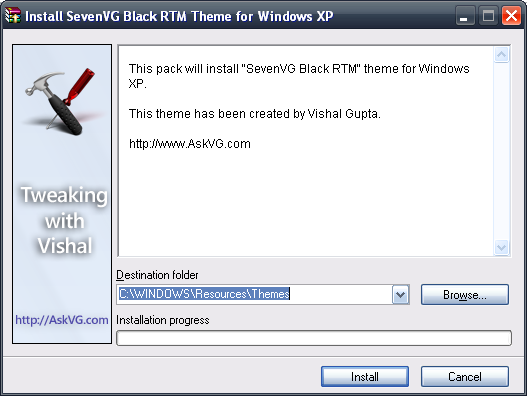 Make your Windows XP look like Windows 7