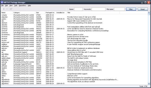 LaTEX templates of scientific articles MikTex LaTEX - mandegar.info
