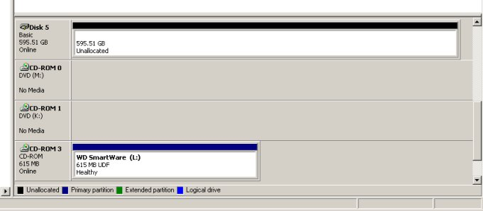 How to remove hidden Virtual CD (VCD) partitions on your Western