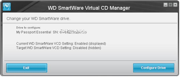 WD Virtual CD USB Device - driver downloads FOUND